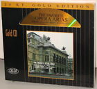 CISCO 24kt GOLD CD GCD 8004: The Favorite Opera Arias - USA 1994 OOP SEALED