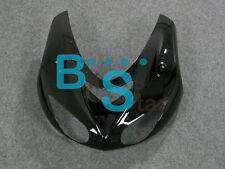 Black Kawasaki ZX10R 2006 2007 front cowling upper nose headlight fairings