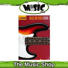 New Hal Leonard Bass Guitar Method: Book 2 2nd Edition - Learn to Play Bass