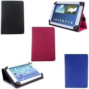 "Universal Adjustable Flip Leather Folio Stand Case for Azpen 9""- 10.1"" Tablet"