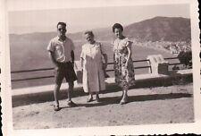 LOTTO FOTO FAMIGLIA DI ALASSIO A SANTA CROCE 1949 C6-411