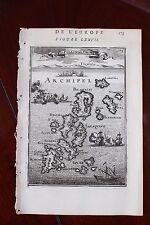 ✒ 1683 MANESSON MALLET Grèce Iles SPORADES Pelagnisi Dromi Sarakino Mer EGEE