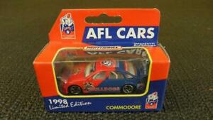 Matchbox Limited Edition AFL Collectable Car Holden Commodore Bulldogs 1998
