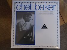 Chet Baker Live in Florence 1956 180g vinyl LP NEW SEALED DOX848
