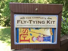 THE COMPLETE FLY TYING KIT Fisherman's Dream Dad Son Project Go FISH Lake Stream