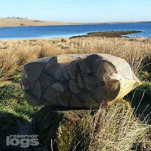 """OAK Logs 10"""" Long - Kiln Dried = 40 Litre Net 15kg Overnight Delivery"""