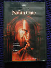 The Ninth Gate DVD, 2008 Johnny Depp thriller Disc Perfect Region 1 Many Extras