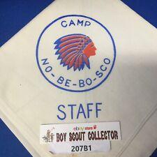 Boy Scout Camp No-Be-Bo-Sco STAFF Neckerchief