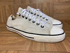 RARE🔥 Converse John Varvatos Off White Slip On Casual Shoes Vintage 10.5 114283