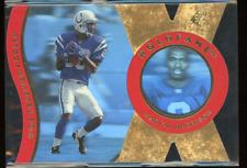 1997 SPx HoloFame #HX16 Marvin Harrison Die Cut Rare Short Print SP Gold Colts