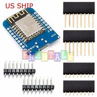 D1 Mini NodeMCU and Arduino compatible wifi lua ESP8266 ESP-12 Arduino WeMos