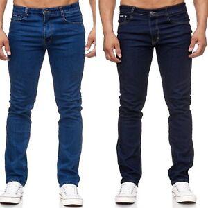 Herren Jeans Hose Stretch Übergröße Übergrößen 5 Pocket Jeanshose SCHWARZ