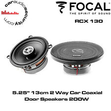 "Focal RCX130 - 5.25"" 13cm 2-Way Coaxial Car Door Speakers Kit 200W"