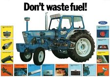 FORD 7000 TRACTOR SALES BROCHURE/POSTER 80's ADVERTISEMENT ULTRA RARE A3