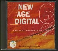 NEW AGE DIGITAL 6 OREADE CD Simon Cooper Emerald Project Gregor Theelen