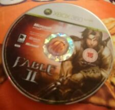 Fable II (Microsoft Xbox 360, 2008) Disque Seulement