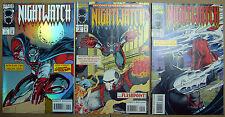 MARVEL Comics NIGHTWATCH #1 - 3