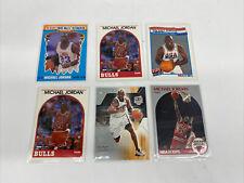 Michael Jordan LOT 6 Cards 1989-90 Hoops Fleer Dream Team
