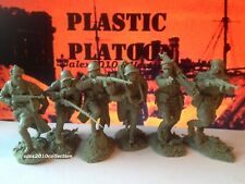 NEW!!! PLASTIC PLATOON, RED ARMY Infantry 1941,rubber soldiers 1:32