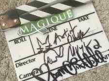 CLAP CINEMA AUTHENTIQUE MAGIQUE Signé par CALI & Philippe MUYL RARE !