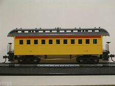 HO MANTUA 1860 UNION PACIFIC  WOODEN COACH CAR  #715100 WOODEN COACH UP OLD TIME
