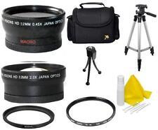 Accessory Bag Lens Filter Kit for Canon Vixia HF R800, HF R82, HF R80