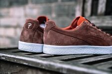 PUMA Clyde X Patta Brown Suede Orange UK 7 US 8 Disc Blaze Glory OG Atmos Fieg