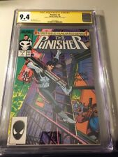 Punisher #1 1987 CGC SS 9.4 Signed by Klaus Janson and Carl Potts