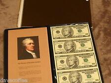 2003 $10 UNCUT GEM U.S. STAR NOTES-RARE LOW PRINTING- FREE SHIP