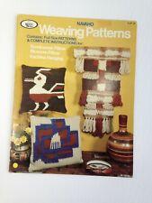 Hazel Pearson Weaving World Patterns Wall Hanging, Pillow Navaho Road Runner 70s