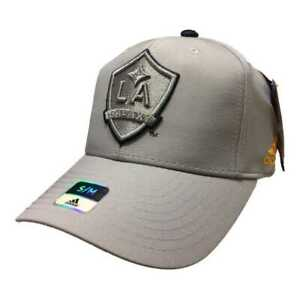 Los Angeles Galaxy Adidas SuperFlex Structured Fitted Baseball Hat Cap (S/M)