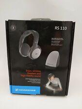 NEW Sennheiser RS 110 On-Ear Wireless Stereo Headphones Black