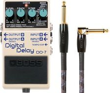 New Boss DD-7 Digital Delay Guitar Pedal! FREE 10 Foot Boss Cable!