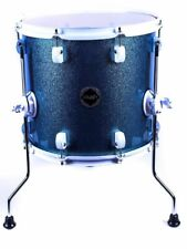 "Crush Drums Chameleon Complete 18"" Floor Tom/Light Blue Sparkle/Finish #914/NEW"