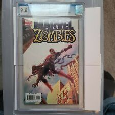 Marvel Zombies #1 CGC 9.6 WP Amazing Fantasy #15 cover swipe Homage Disney+ TV