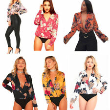 Satin Body Floral Tops & Shirts for Women