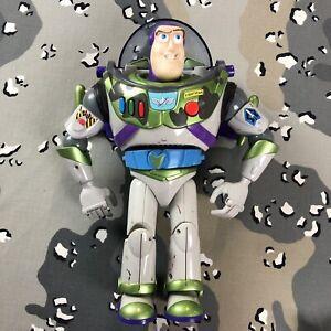 "Mattel Disney Toy Story 2 Camouflage Military Buzz Lightyear 12"" Figure 1999"