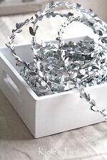 (1,20€/m) 7,5m Buchsgirlande Myrthengirlande SILBER Silberbuchs Buchs Myrthe