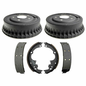 🔥Raybestos Rear Brake Drums and Brake Shoes Kit for Buick Pontiac Chevrolet🔥