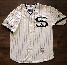 CHICAGO WHITE SOX L Starter Jersey 1919 VINTAGE Cooperstown Collection BLACK SOX