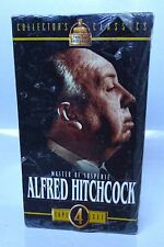 ALFRED HITCHCOCK MASTER OF SUSPENSE 4-VHS BOX SET NEW/SEALED Mystery Classics