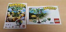 LEGO 3853 BOARD GAME BANANA BALANCE-Build & Manuale Istruzioni Solo