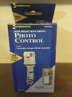 INTERMATIC K4223C 15A 208-277V Stem and Swivel Mount Position Photocell