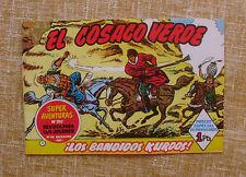 El Cosaco Verde/ Super Aventuras/ nº 282/ ¡Los bandidos Kurdos!/ 1960/ Bruguera