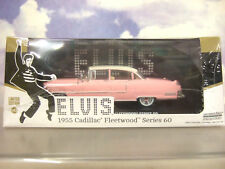 RARE GREENLIGHT CHASE 1/43 1955 CADILLAC FLEETWOOD 60 ELVIS PRESLEY GREEN TYRES!