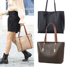 Women Office Tote Bag PU Briefcase Handbag Classic Purse Satchels Shoulder Bags