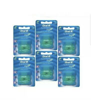 Pack of 6 Oral-B Satin Tape Mint Flavour Floss 25m