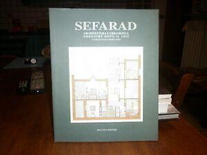 SEFARAD - ARCHITETTURA EBRAICA- URBANISTICA- DELL'OCA EDITORE- RARISSIMO!!!