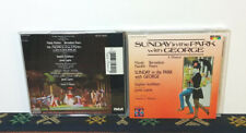Sunday In The Park With George (Original Cast Recording) CD 1984 Musical - RARE