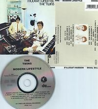 THE TWINS-MODERN LIFESTYLE-1982-REM.IN 2004-GERMANY-PASSION FACTORY REC.-CD-NEW-